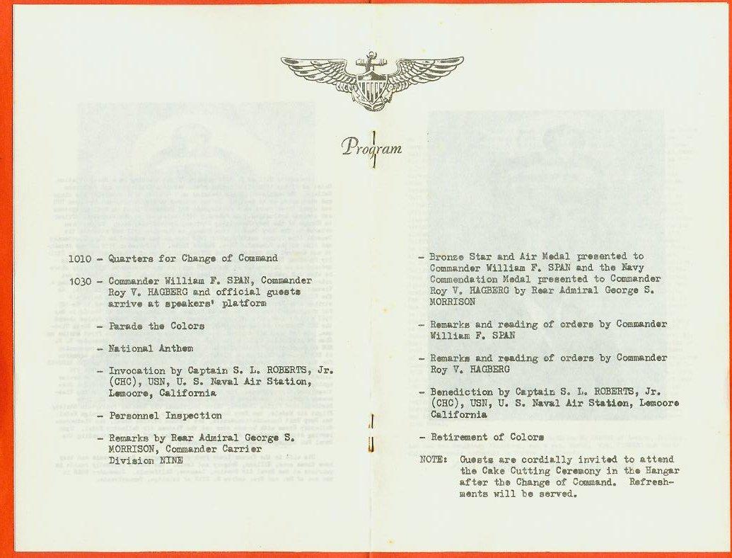 VA-164 Table Of Contents